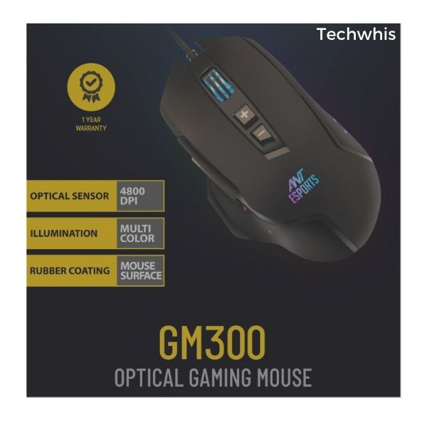 mouse by ant esports gm300